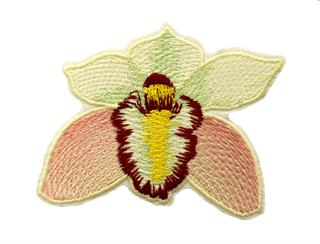 Patch Bordado Termocolante Flor - Modelo 4