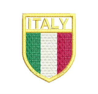 "Patch Bordado Termocolante ""Italy"""