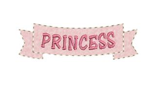 "Patch Bordado Termocolante ""Princess"""