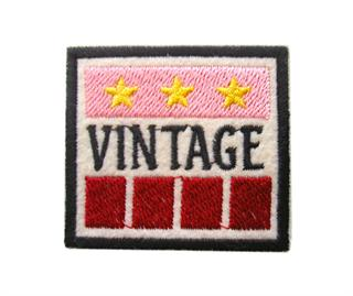 "Patch Bordado Termocolante ""Vintage"""