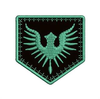 Patch Bordado Termocolante Militar Asas