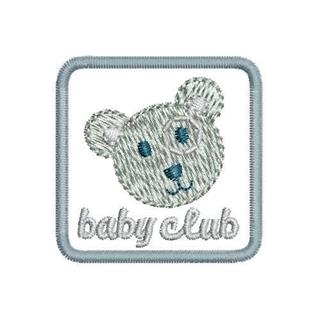 "Patch Bordado Termocolante ""Baby Club"""