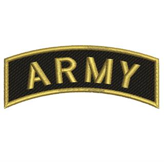 "Patch Bordado Termocolante ""ARMY"""