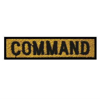 "Patch Bordado Termocolante ""Command"""
