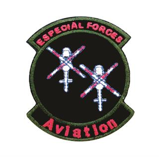 "Patch Bordado Termocolante ""Especial Forces Aviation"""