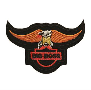 "Patch Bordado Termocolante Águia ""Big Boss"""