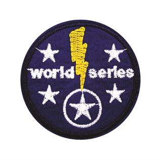 "Patch Bordado Termocolante ""World Series"""
