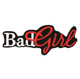 "Patch Bordado Termocolante ""Bad Girl"""