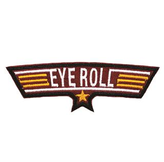 "Patch Bordado Termocolante ""Eye Roll Maior"""