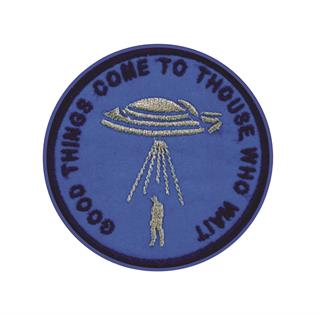 "Patch Bordado Termocolante ""Good Things Come To Those Who Wait"""