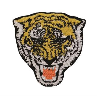 "Patch Bordado Termocolante ""Tigre Rugindo"""