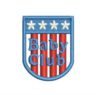 "Patch Bordado Termocolante ""Baby Club Pequeno"""