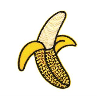 "Patch Bordado Termocolante ""Banana Lantejoula"""