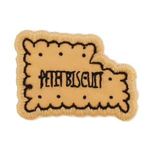 "Patch Bordado Termocolante ""Biscoito PETITBISCUIT"""