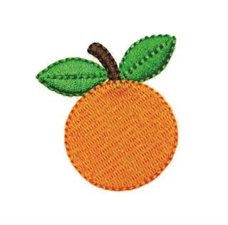 "Patch Bordado Termocolante ""Laranja"""