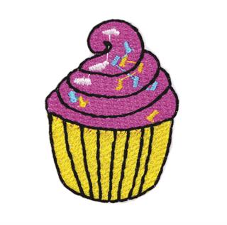 "Patch Bordado Termocolante ""Cup-Cake"""