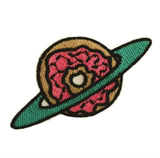 "Patch Bordado Termocolante ""Rosquinha Espacial"""