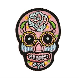 "Patch Bordado Termocolante ""Caveira Mexicana"""