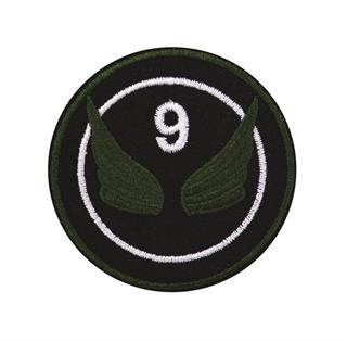 "Patch Bordado Termocolante ""9 Com Asas"""
