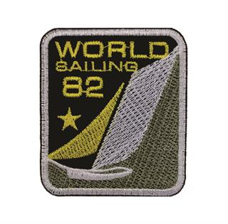 "Patch Bordado Termocolante ""82 World Sailing"""