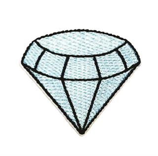 "Patch Bordado Termocolante ""Diamante"""