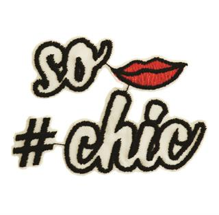 "Patch Bordado Termocolante ""#sochic"""
