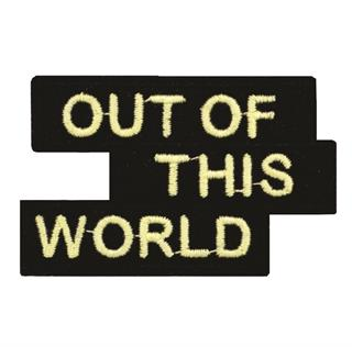 "Patch Bordado Termocolante ""Out Of This World"""