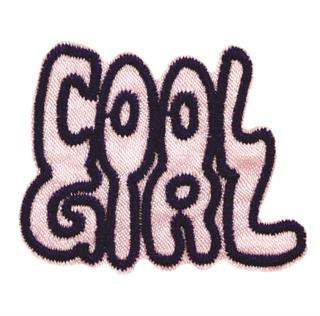"Patch Bordado Termocolante ""Cool Girl"""