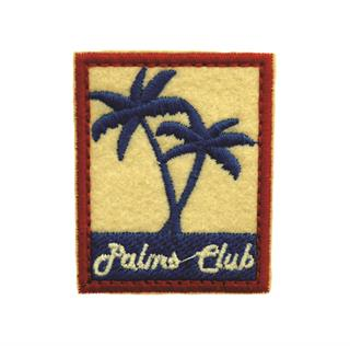 "Patch Bordado Termocolante ""Etiqueta Palms Club"""