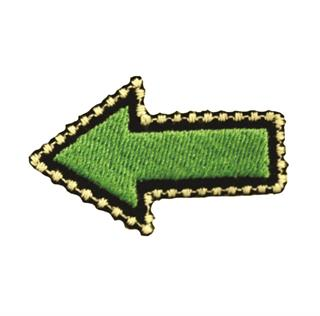 "Patch Bordado Termocolante ""Seta Verde"""