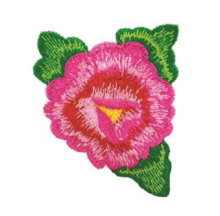 "Patch Bordado Termocolante ""Flor - Modelo 3"""
