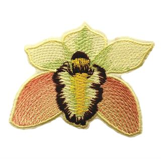 "Patch Bordado Termocolante ""Flor - Modelo 4"""