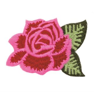 "Patch Bordado Termocolante ""Flor - Modelo 07"""