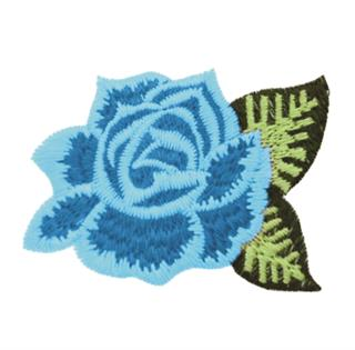 "Patch Bordado Termocolante ""Flor - Modelo 08"""