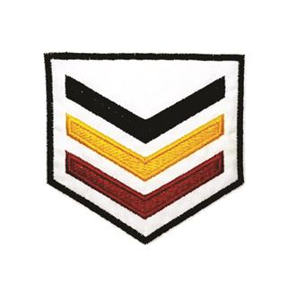 "Patch Bordado Termocolante ""Brasão Patente 3 Cores"""