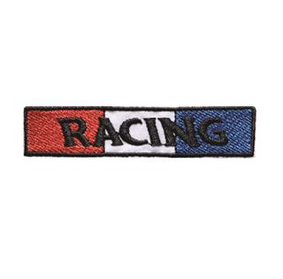 "Patch Bordado Termocolante ""Racing Bandeira"""