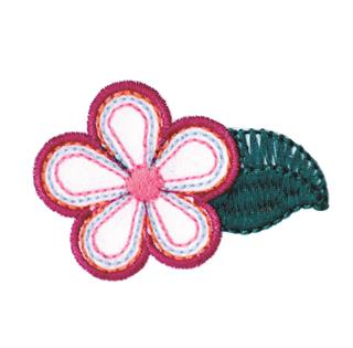 "Patch Bordado Termocolante ""Flor - 2"""