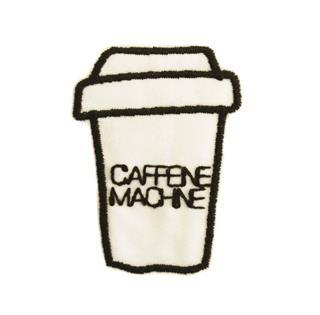"Patch Bordado Termocolante ""Copo Caffeine Machine"""