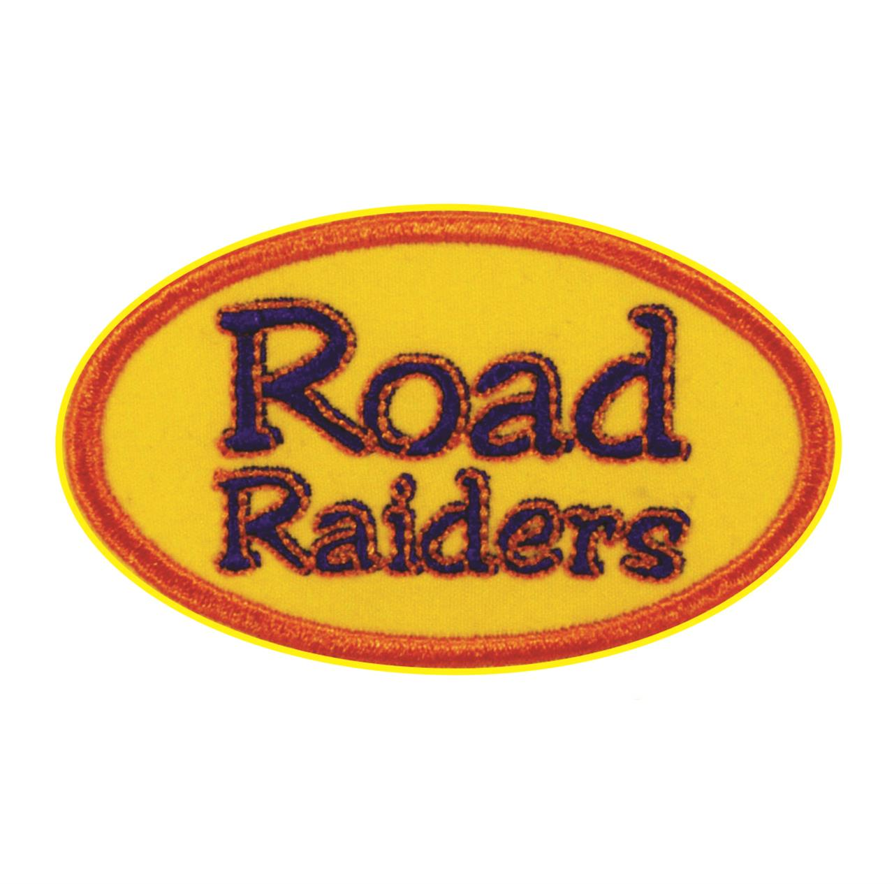 "Termocolante ""Road Raiders"" Amarelo"