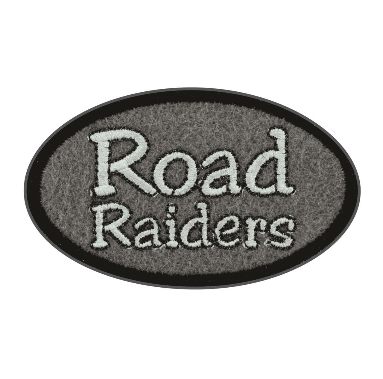 "Termocolante ""Road Raiders"" Cinza"