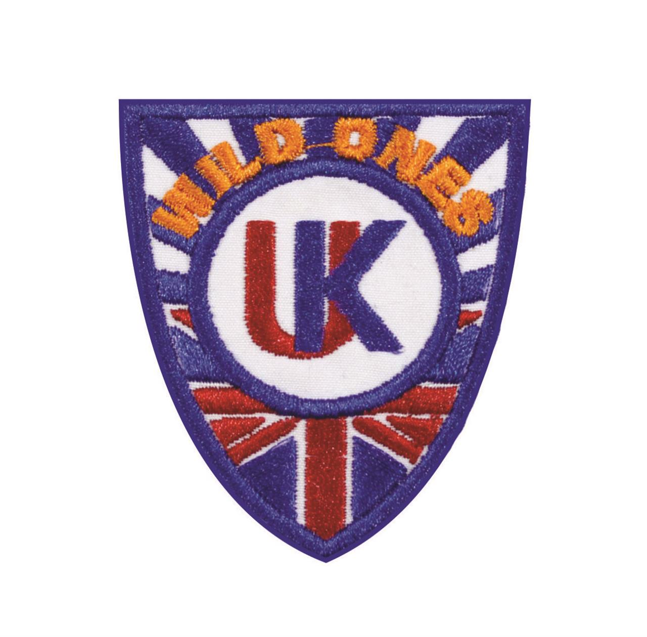 "Termocolante ""Brasão United Kingdom Wild Ones"""