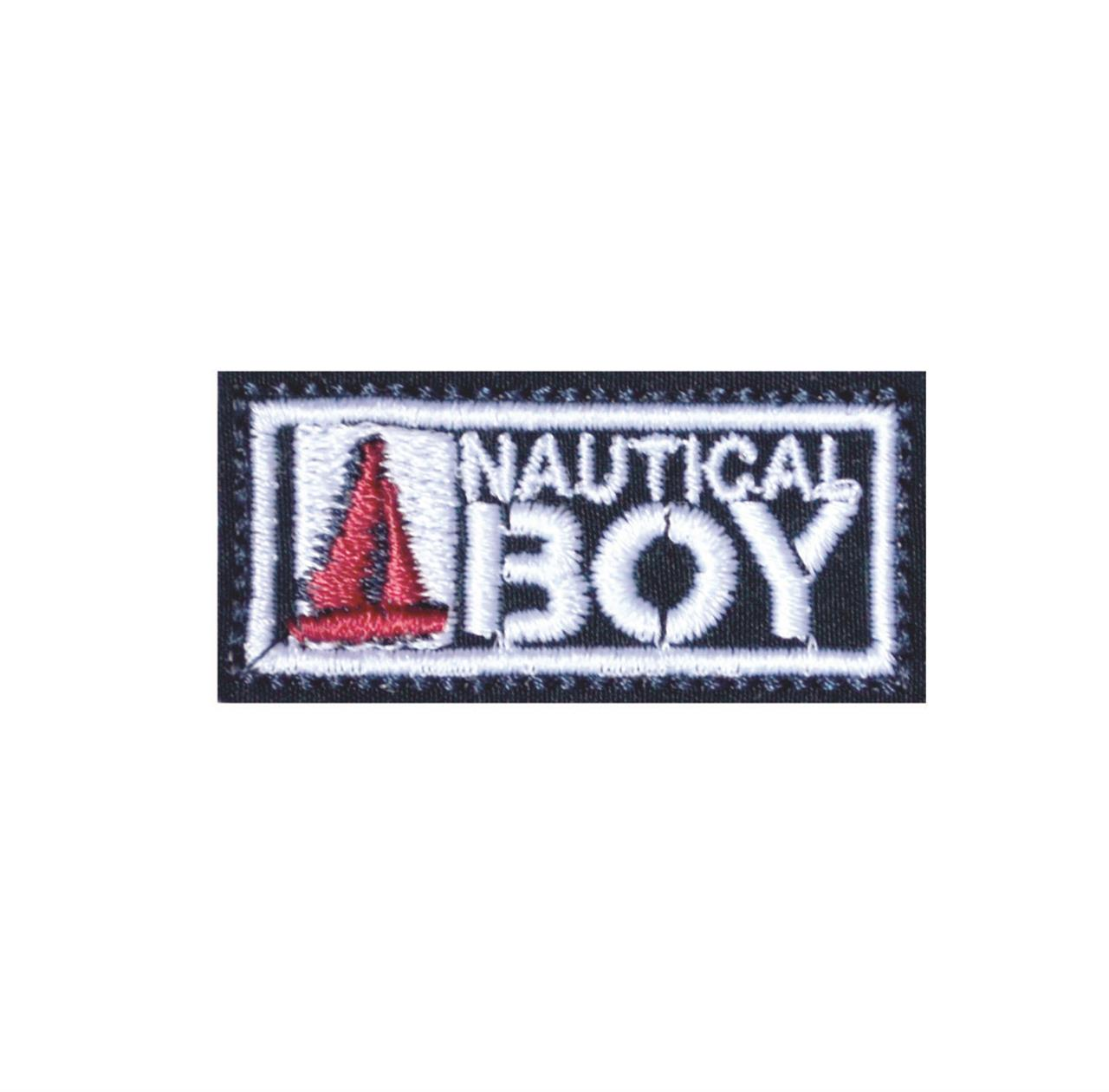 "Termocolante ""Etiqueta Nautical Boy"""